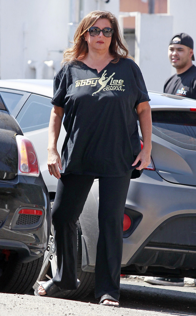 Abby Lee Miller Steps Out In Dance Moms Attire After Being