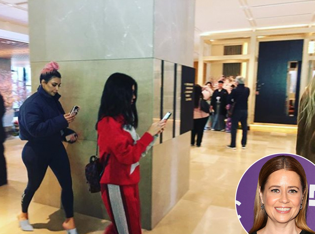 Jenna Fischer, Kim Kardashian, Kourtney Kardashian