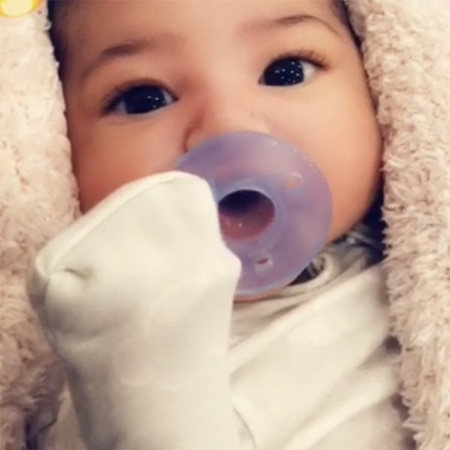 rs 600x600 180303105218 600 stormi webster kylie jenner daughter snapchat 030318 - Kylie Jenner Shares Clearest Photo of Baby Stormi's Face