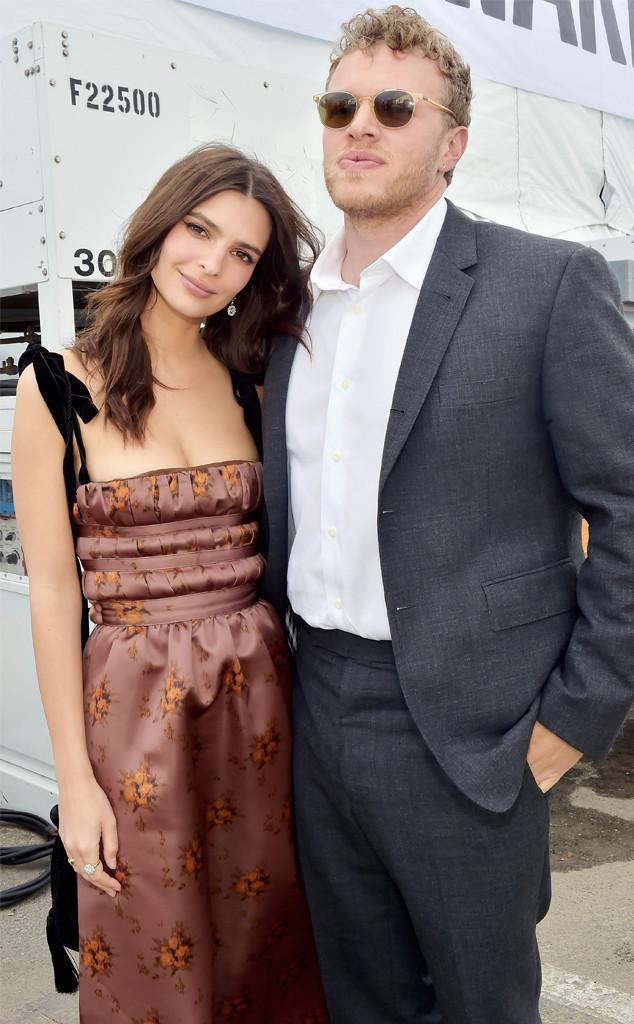 Emily Ratajkowski, Sebastian Bear-McClard, 2018 Film Independent Spirit Awards