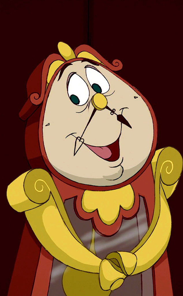 Cogsworth, Beauty & the Beast, David Ogden Stiers