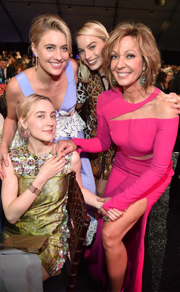 Saoirse Ronan, Greta Gerwig, Margot Robbie, Allison Janney, 2018 Film Independent Spirit Awards