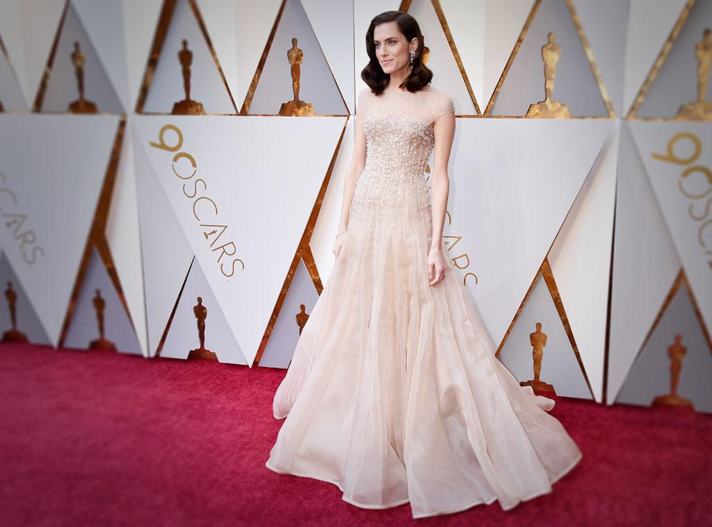 ESC: Allison Williams, Oscars 2018