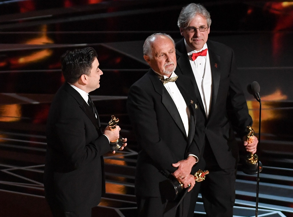 Achievement in Sound Mixing, Dunkirk, 2018 Oscars, 2018, Winners, Mark Weingarten, Gregg Landaker and Gary A. Rizzo