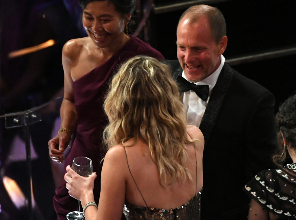 Jennifer Lawrence, Woody Harrelson, 2018 Oscars