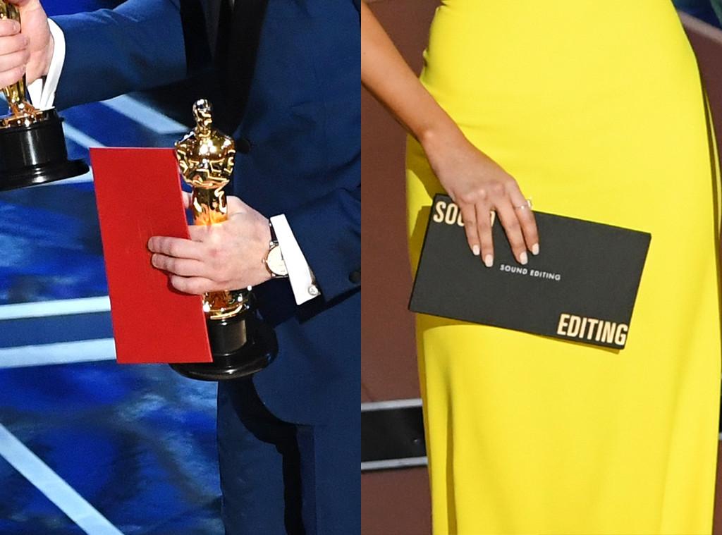 Envelopes, 2018 Oscars