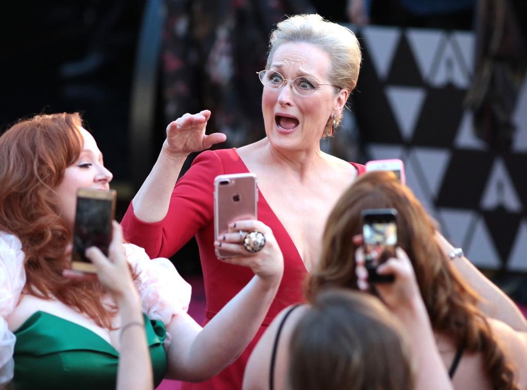 Meryl Streep, 2018 Oscars, Candids