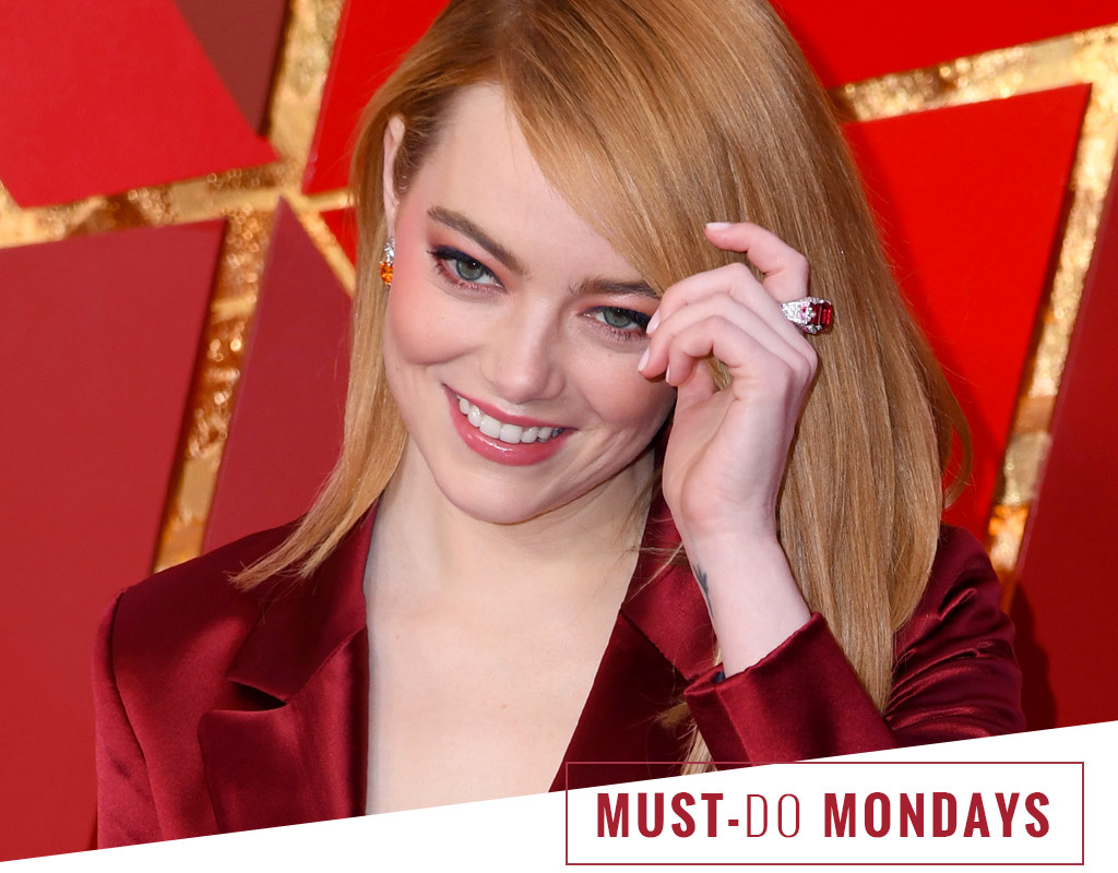ESC: Must do Monday, Emma Stone