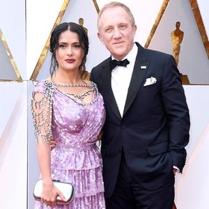 Salma Hayek, François-Henri Pinault, 2018 Oscars, Couples