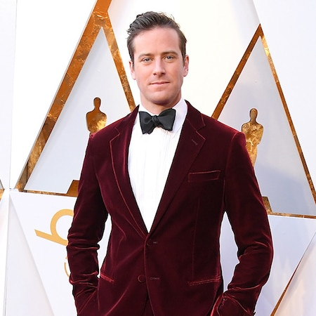 """rs 600x600 180304163237 600 armie hammer 2018 oscars academy awards - Armie Hammer Shares His Mug Shot-- and Jokes It's """"Probably Not the Last"""""""