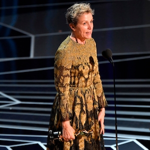 Actress in a Leading Role, Frances McDormand, 2018 Oscars, Winners, 2018