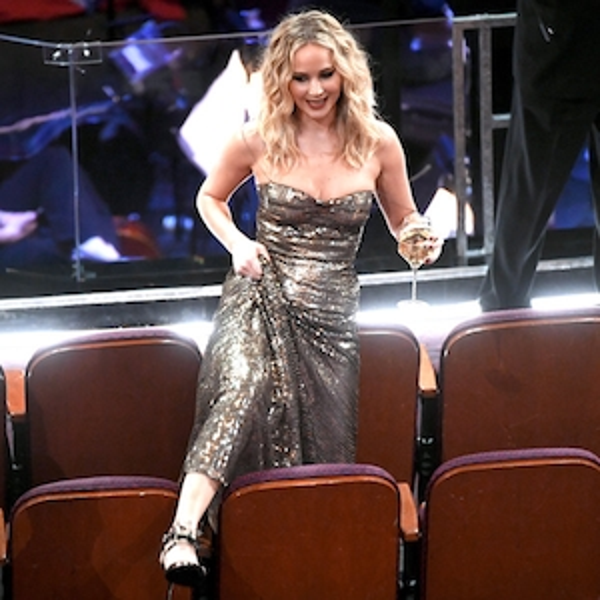 Jennifer Lawrence, 2018 Oscars, Candids