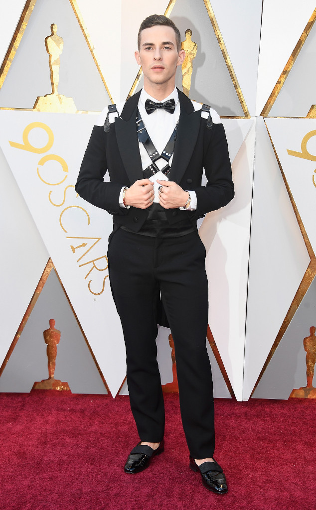 Adam Rippon, 2018 Oscars, Red Carpet Fashions