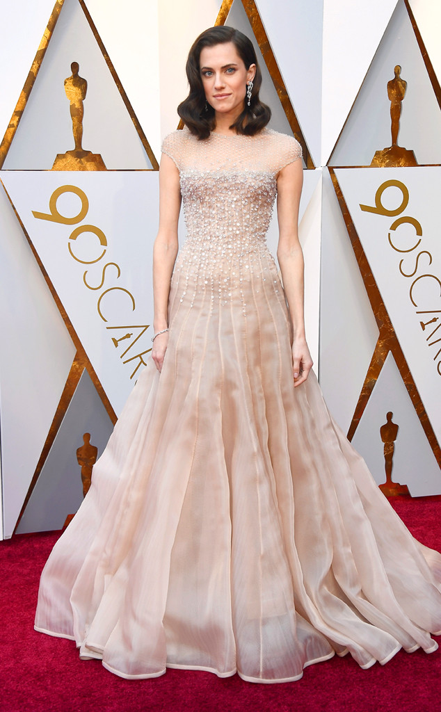 Allison Williams, 2018 Oscars, Red Carpet Fashions