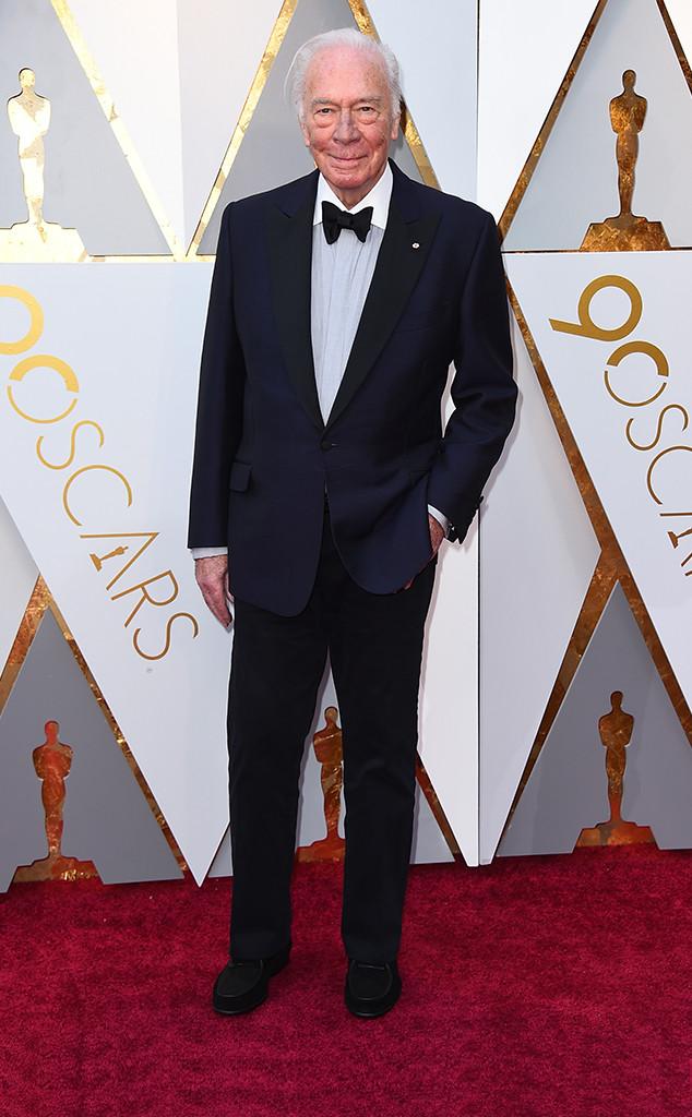 Christopher Plummer, 2018 Oscars, Red Carpet Fashions