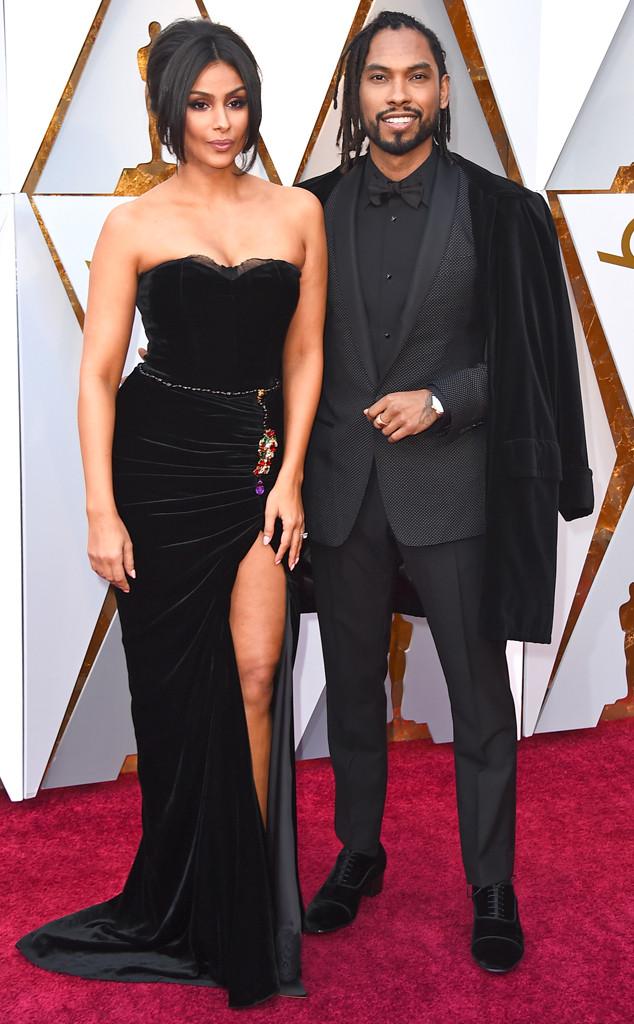 Nazanin Mandi, Miguel, 2018 Oscars, Couples