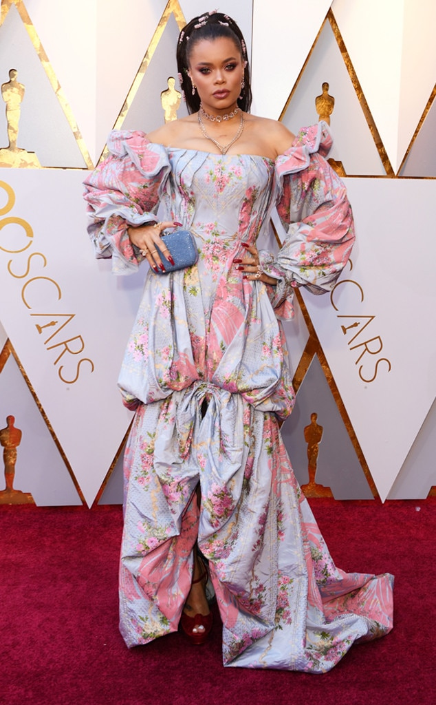 Andra Day, 2018 Oscars, Red Carpet Fashions