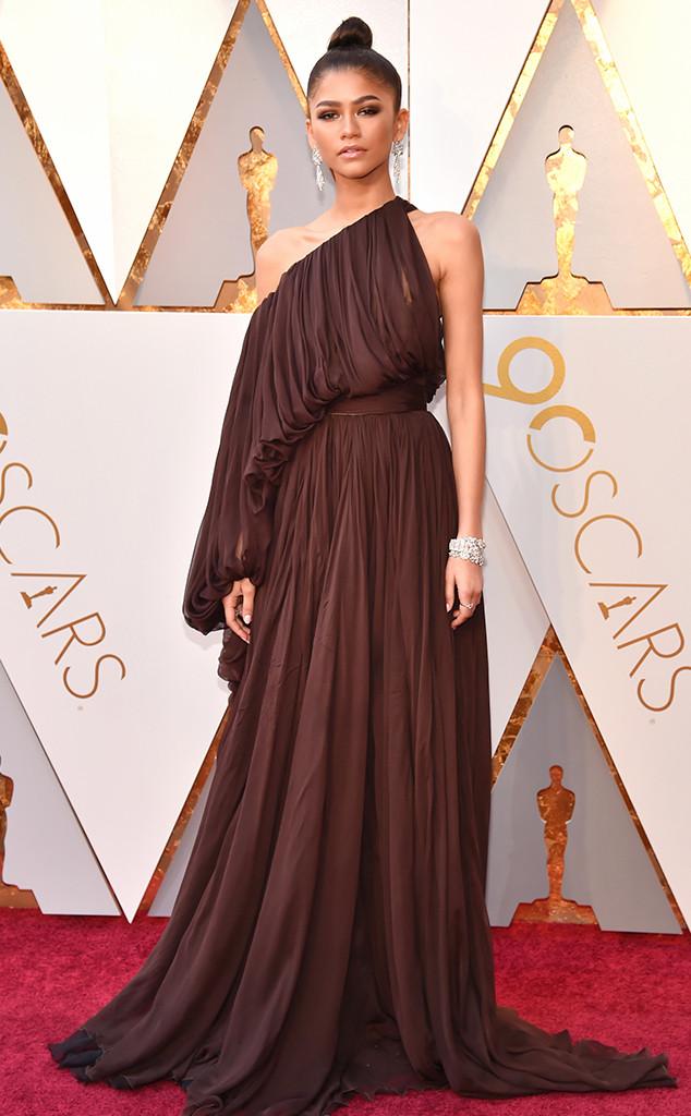 Zendaya, 2018 Oscars, Red Carpet Fashions