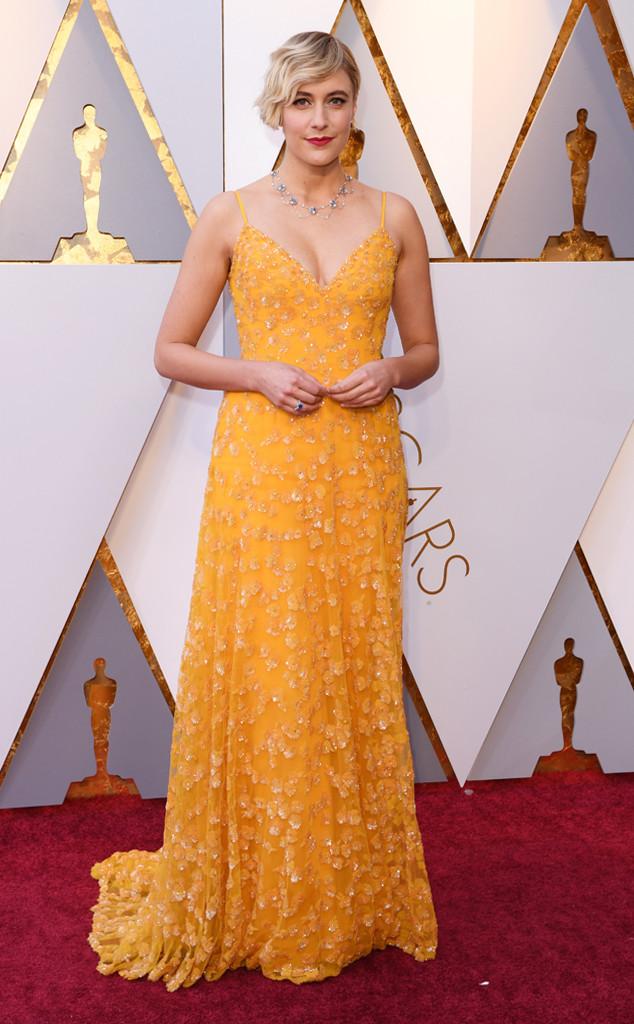 Greta Gerwig, 2018 Oscars, Red Carpet Fashions