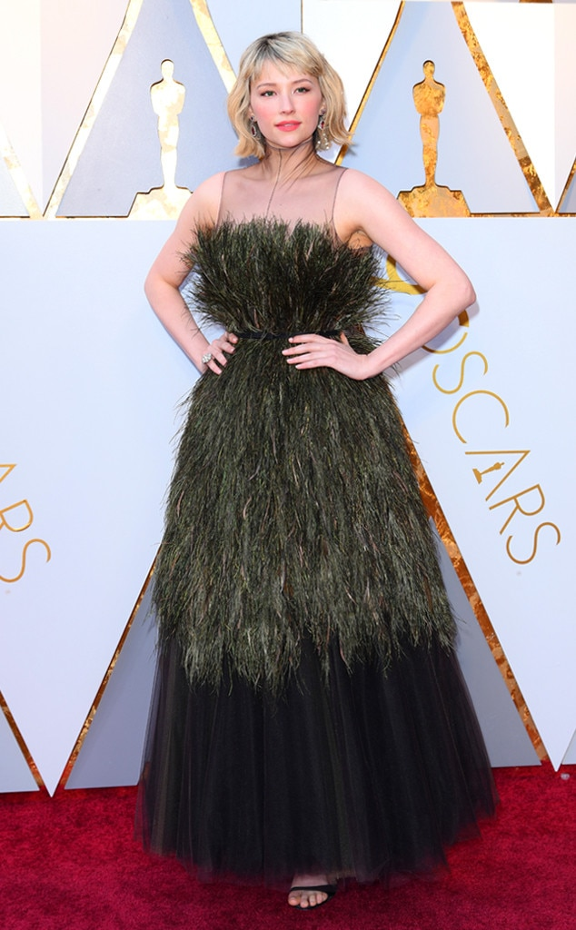 Haley Bennett, 2018 Oscars, Red Carpet Fashions