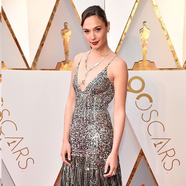 Gal gadot from 2018 oscars red carpet fashion e news - Oscars red carpet coverage ...