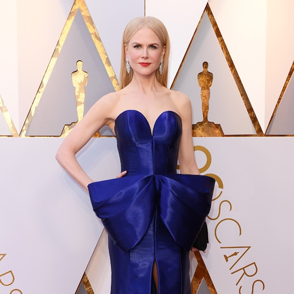 Nicole Kidman From 2018 Oscars Red Carpet Fashion