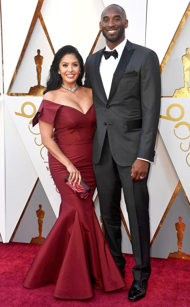 Vanessa Laine Bryant, Kobe Bryant, 2018 Oscars, Couples