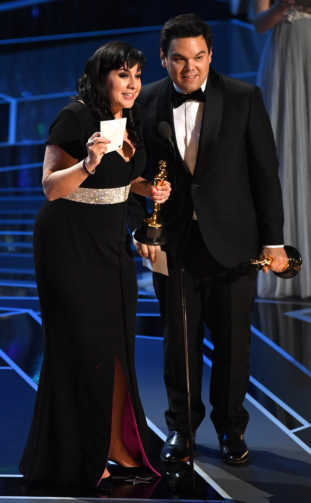 Best Original Song, Remember Me, Coco, Kristen Anderson-Lopez, Robert Lopez, 2018 Oscars, 2018, Winners