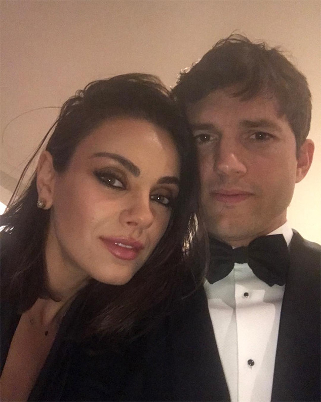 Mila Kunis, Ashton Kutcher, Post-Oscars 2018