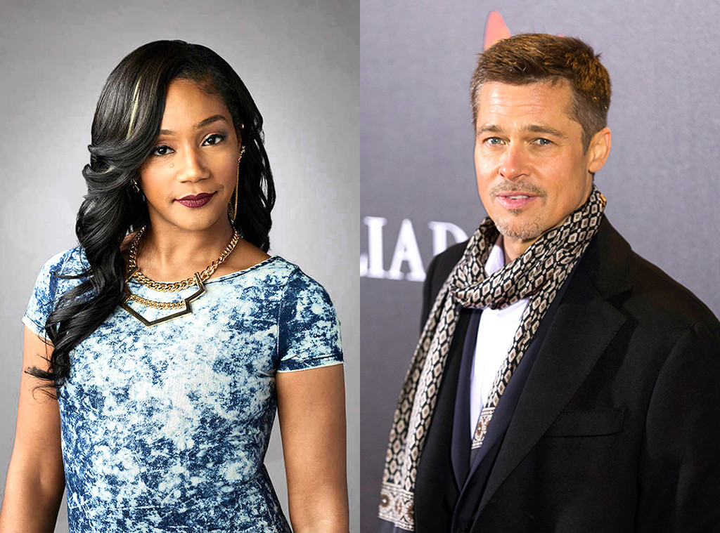 Brad Pitt and Tiffany Haddish Agree to Hook Up If They Will Both Single in 2019