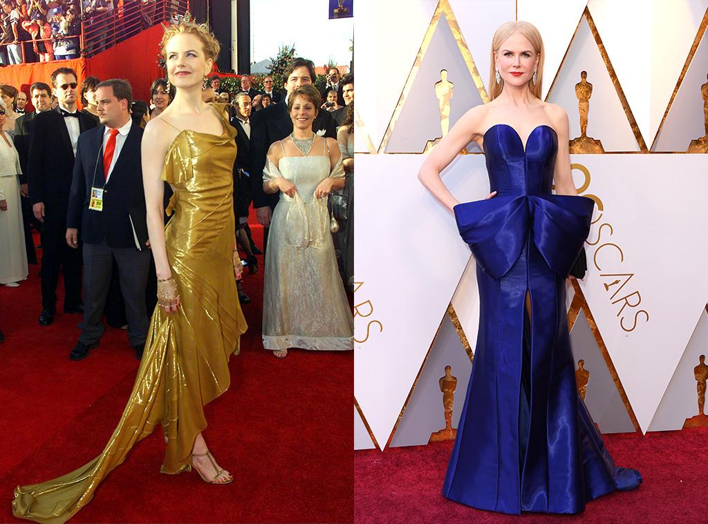 Nicole Kidman, 2000 Oscars, 2018 Oscars, First Oscars