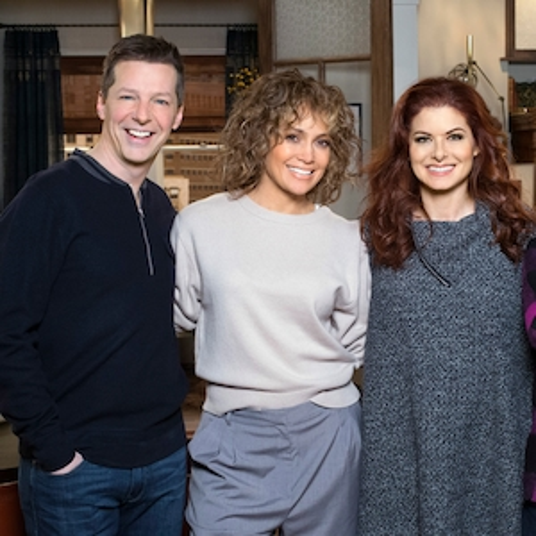 Will & Grace, Jennifer Lopez, Sean Hayes, Debra Messing