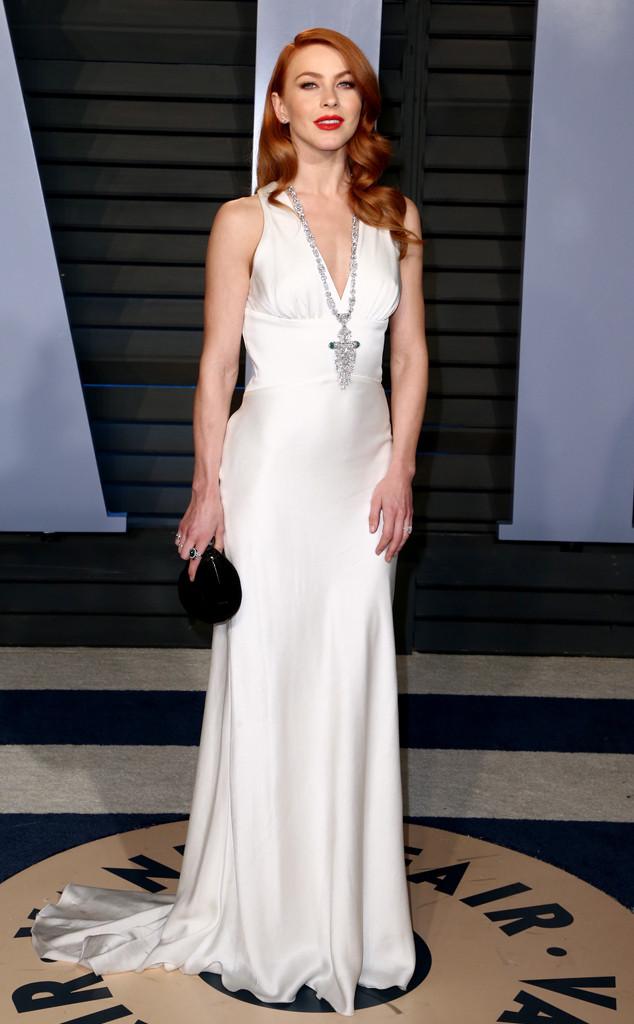 Julianne Hough, Vanity Fair Oscar Party 2018
