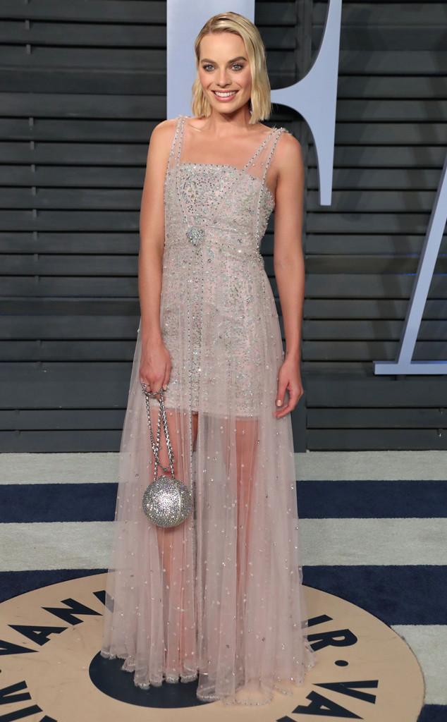 Margot Robbie, Vanity Fair Oscar Party 2018