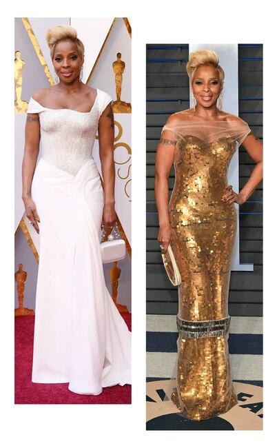 ESC: Oscars vs Vanity Fair, Mary J. Blige