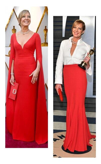 ESC: Oscars vs Vanity Fair, Allison Janney