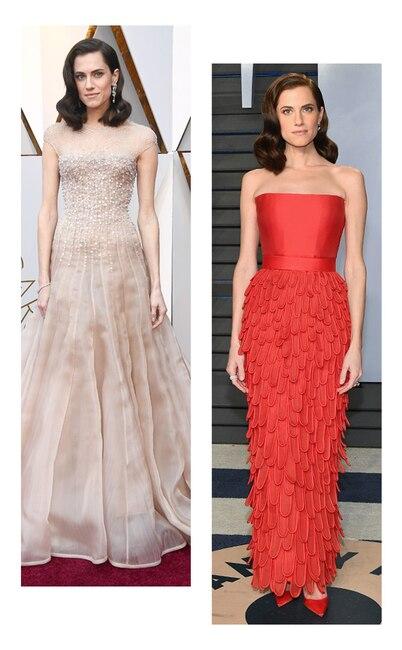 ESC: Oscars vs Vanity Fair, Allison Williams