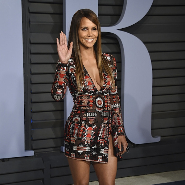 Halle Berry From 2018 Vanity Fair Oscars After Party E News