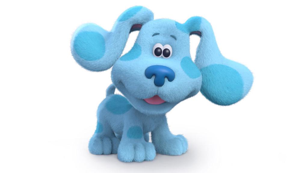 Blue S Clues Green Dog Plush