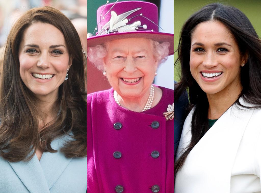 Kate Middleton, Queen Elizabeth, Meghan Markle