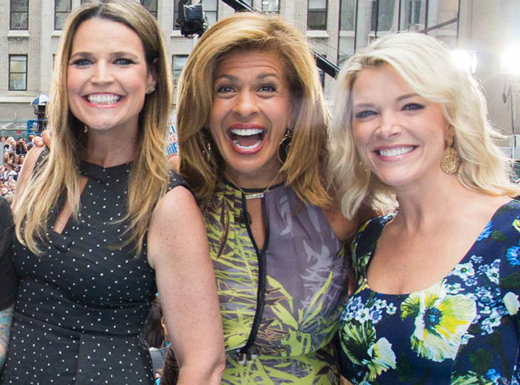 Hoda Kotb, Savannah Guthrie, Megyn Kelly, Today