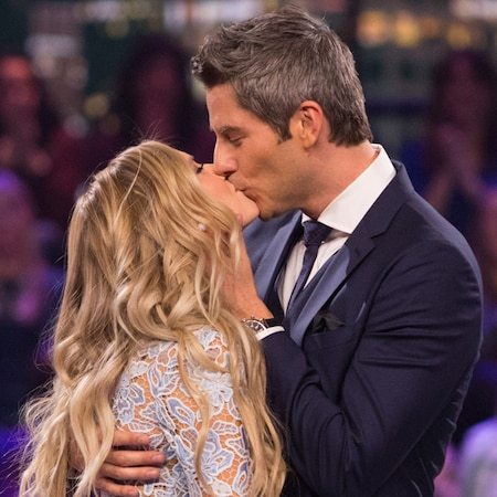 """rs 600x600 180307043110 600.bachelor arie lauren.3718 - Arie Luyendyk Jr. and Lauren Burnham Have Already Started Planning Their Wedding:"""" We Both Want Good Lighting and Lots of Flowers"""""""