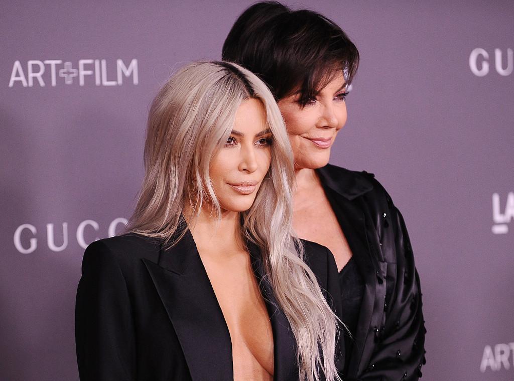 ESC: Kim Kardashian, Kris Jenner