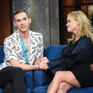 Adam Rippon, Reese Witherspoon, The Late Show