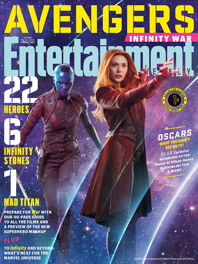 Avengers: Infinity War, Entertainment Weekly