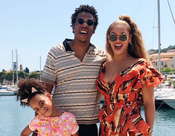 Beyoncé and Jay-Z Take Blue Ivy Carter Sailing in Cannes