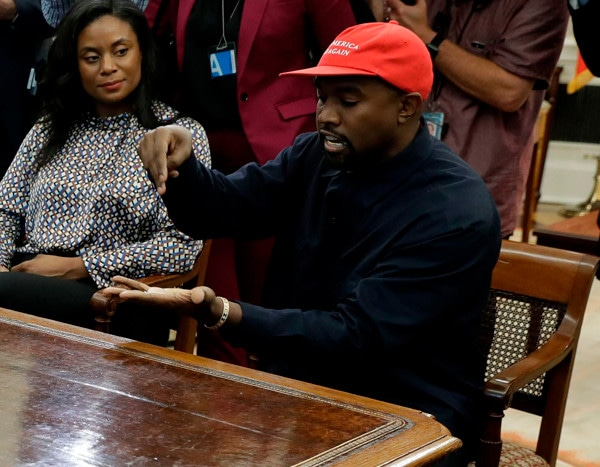 Kanye West Visits White House for Meeting With President Donald Trump