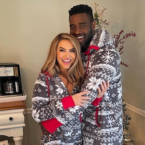 Chrishell Stause, Keo Motsepe, Christmas 2020