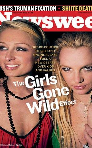 Newsweek Cover : Paris Hilton, Britney Spears