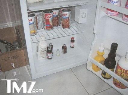 Inside Anna Nicole's Refrigerator